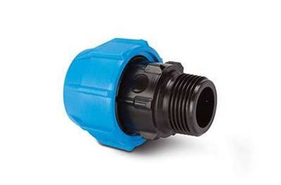 "Polypipe Polyfast 20mm x 1/2"" Male BSP Threaded Adaptor 40420"