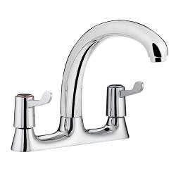 Bristan VAL DSM C CD Lever Deck Chrome Plated Sink Mixer with Ceramic Disc Valves