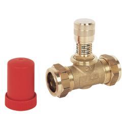 Honeywell Home 22mm Straight Automatic Bypass Valve DU144