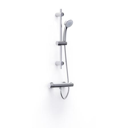 An image of Inta Trade-tec Thermostatic Bar Shower and Kit Tr10032cp