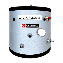 Gledhill Stainless ES Indirect Unvented 90L Cylinder SESINPIN090