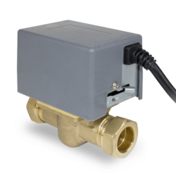 Salus PMV28 Standard 2 Port Motorised 28mm Valve for Central Heating & Hot Water Systems