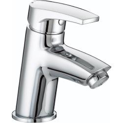 Bristan OR BAS C Chrome Plated Orta Basin Mixer with Clicker Waste