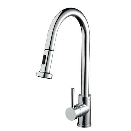 Bristan APR PULLSNK C Apricot Professional Kitchen Sink Mixer Tap with Pull Out Hose and Spray