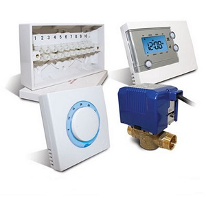 Salus CP122 2 Port Room Thermostat Control Pack