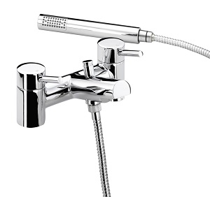 Bristan PM BSM C Prism Pillar Bath Shower Mixer