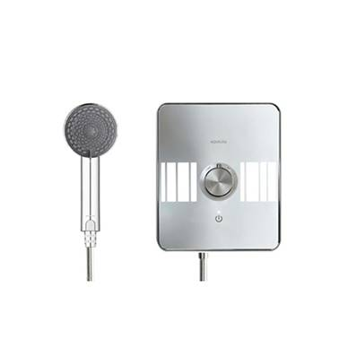 Aqualisa Electric shower 8.5kw Lumi White/Chrome LME8521