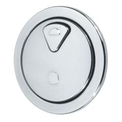 Thomas Dudley 73.5Mm Round Vantage Dual Flush Round Push Button 327732