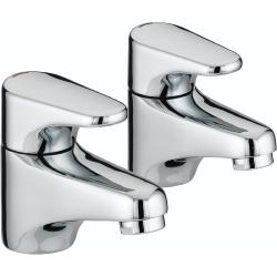 Bristan JU 1/2 C Jute Chrome Plated Basin Taps