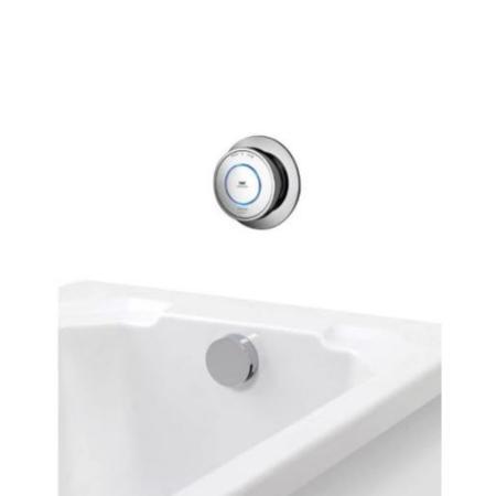 An image of Aqualisa Quartz Classic Smart Bath with Bath Fill - Hp/combi Qzd.a1.btx.20