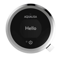 Aqualisa Quartz Touch Smart Concealed with Fixed Wall Head - HP/Combi QZST.A1.BR.20