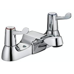Bristan VAL BF C CD Lever Bath Filler with Ceramic Disc Valves in Chrome