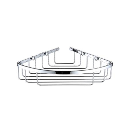Bristan Closed Front Corner Fixed Wire Basket COMP BASK04 C