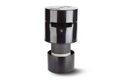 Polypipe Air Admittance Valve 4in/110mm. PVCu Solvent Socket. Can Be Used Externally SPV110B