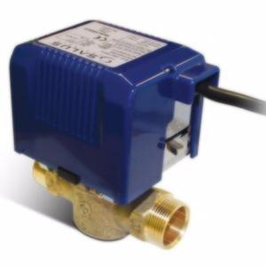 Salus 2 Port SPMV22 Premium Motorised 22mm Valve for Central Heating & Hot Water Systems with LED