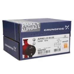 Grundfos 95047567 Black/Red Alpha 15-50 2 Litre Variable Speed