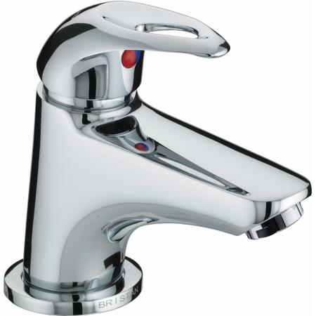 Bristan J MBAS C Java Miniature Basin Mixer with Pop-Up Waste