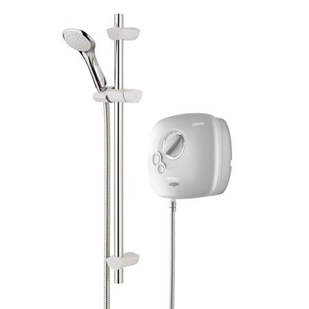 Bristan Hydropower HY POWSHX10 W Thermostatic Power Shower - White