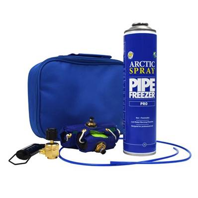An image of Arctic Hayes Arctic Spray Pro Solo Freeze Kit Zesolo