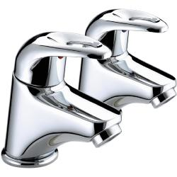 Bristan J 1/2 C Java Basin Pillar Taps