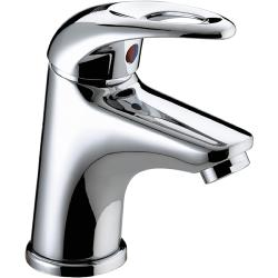 Bristan J SMBAS C Java Small Basin Mixer with Clicker Waste - Chrome