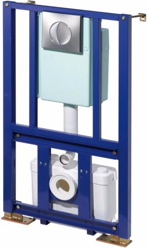 Saniflo Saniwall Built in Frame System 1110 with Integrated Macerator Pump & Cistern
