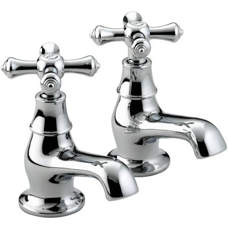 Bristan K 3/4 C Colonial Bath Taps - Chrome