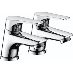 Bristan VT 1/2 C Vantage Easy Fit Basin Taps - Chrome Plated