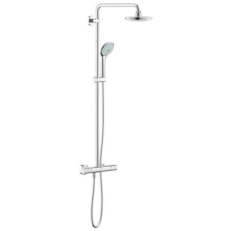 An image of Grohe Euphoria 180 Thermostat Shower System 27296001
