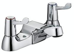 Bristan VAL BF C CD Lever Bath Filler with Ceramic Disc Valves - Chrome Plated