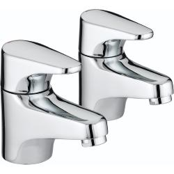 Bristan JU 3/4 C Chrome Plated Jute Bath Taps