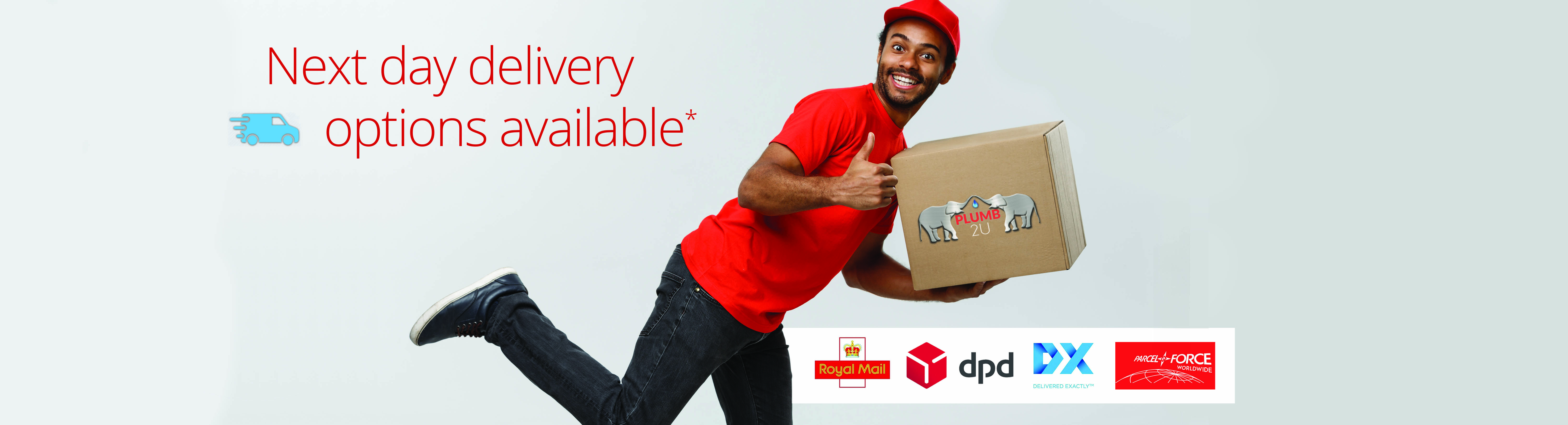 Delivery couriers available