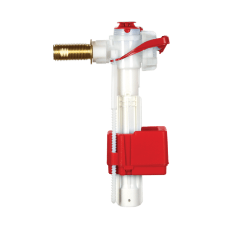 Fluidmaster PRO75B PRO Side Entry Fill Valve with 1/2-Inch Heavy Duty Brass Shank