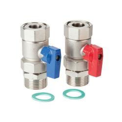 Polypipe Stainless Steel Isolation Valves (pair) 1 Inch PB12764