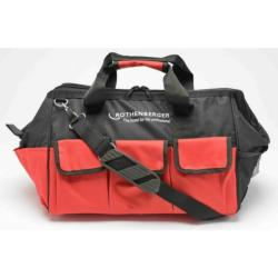 "Rothenberger 18"" Nylon Plumbers Tool Bag 88832 - Black and red"