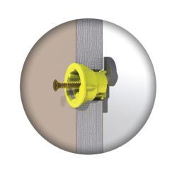 GripIt Plasterboard Fixing 15mm Yellow (25 units)