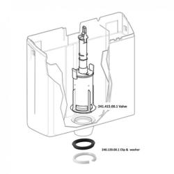 Geberit tilting seal for exposed cisterns AP123, AP124 ,AP130 - 240.139.00.1