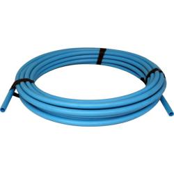 Polypipe MDPE coil blue pipe 20mm x 25m