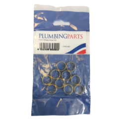 15mm Brass Olive (Pack of 10) UD65390