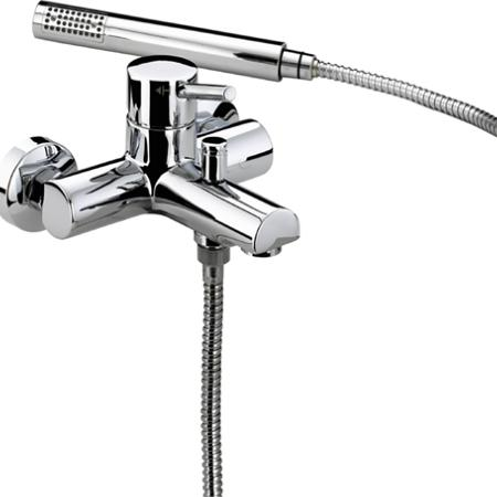 Bristan PM WMBSM C Prism Wall Mounted Bath Shower Mixer