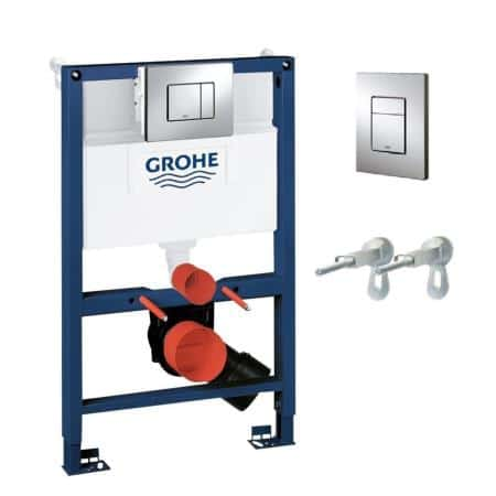 Grohe 38773000 - Rapid SL Cosmo 3 In 1 Pack For WC Frame