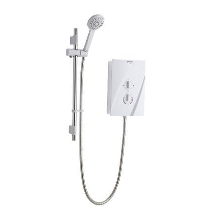 An image of Bristan Cheer Electric Shower - White - 9.5kw