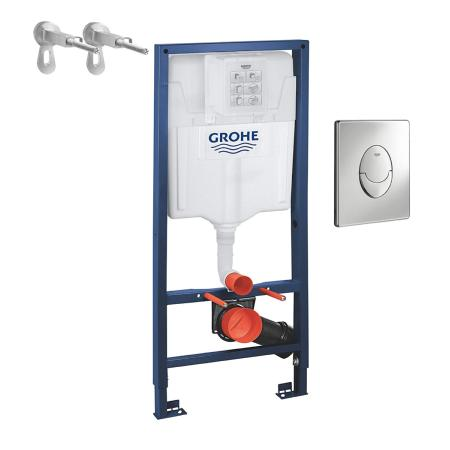 GROHE rapid 3-in-1 WC frame set 1.13m 38772001