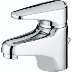 Bristan JU BAS C Chrome Plated Jute Basin Mixer with Pop-Up Waste