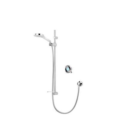 An image of Aqualisa Concealed Digital Shower Q-q Digital with Adjustable Head Qtc.01.ad.hp