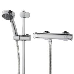 Triton Dene Cool Touch Bar Mixer Shower UNDETHBMCT Chrome