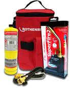 Rothenberger Hotbag - Super Fire 2 + Mapp Gas + Extension Hose 18052