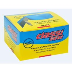 Classi-Seal 2m - 4 m Metre Self Adhesive Flexible Waterproof Upstand Bath Seals