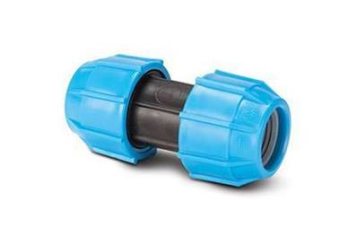Polypipe Polyfast 25mm Straight Coupler 40025