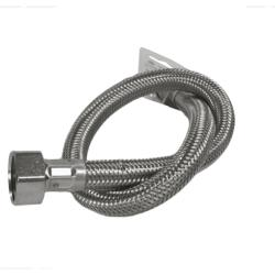 "VIVA 1/2"" x 15mm Flexi Hose Tap Connector Basin with Isolator Valve 500mm BSP"